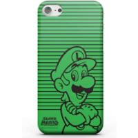 Nintendo Super Mario Luigi Retro Colour Line Art Phone Case for iPhone and Android - iPhone 5C - Tough Case - Gloss